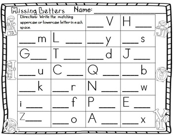 Letters - Guided Mini Lessons