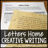 Letters Home - Creative Writing for Novel Study