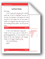Letters Home (Gr. 3/Week 24)