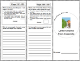Letters Home from Yosemite - 4th Grade Reading Street
