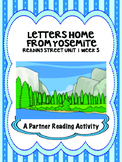 Letters Home from Yosemite  Partner Read  Reading Street 4