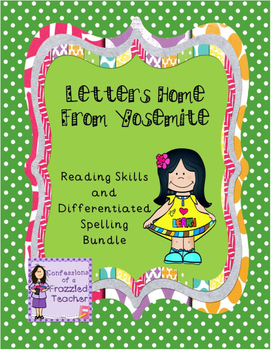 Letters Home from Yosemite Reading/Spelling (Scott Foresma