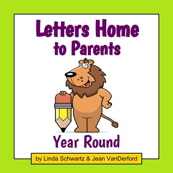 LETTERS HOME TO PARENTS: YEAR ROUND