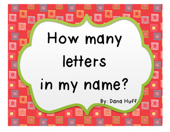 Letters In My Name