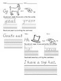 Letters J thru L Beginning Letter Sound Worksheets