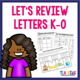 Letters K-O Review Pack