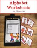 Spanish Alphabet Bundle 1 {Aprendiendo las letras A-M}