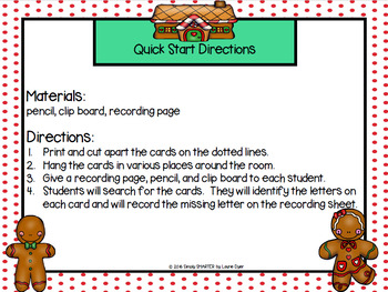 Letters, Letters, As Fast As You Can!:  LOW PREP ABC Order Write the Room