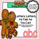 Letters, Letters, As Fast As You Can!:  LOW PREP ABC Order