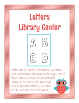 Letters Library Center