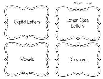 Letters Match & Sort