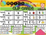 Letters- Match the Letters Clip Cards