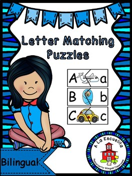 Letters Matching Puzzles