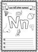 Letters N-R Activity Bundle