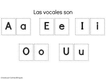 Letters, Names, Numbers for kindergarten (Spanish Version)
