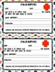 Letters/Notes Home to Parents - Ouch, Spare Clothing, Beha