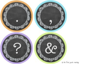 Letters & Number Diecuts: Chalkboard