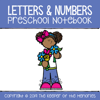 Letters & Numbers Preschool Notebook Bundle