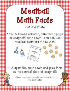 Letters & Numbers With a Chance of Meatballs: Literacy and Math Centers