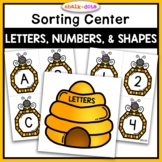 Letters, Numbers, and Shapes Sorting