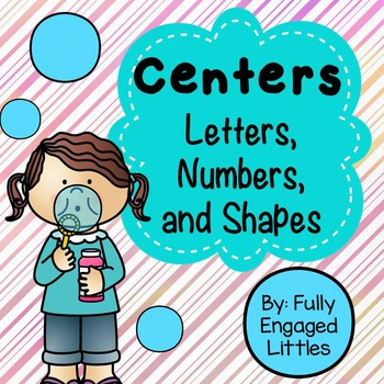 Letters, Numbers, and Shapes- Center