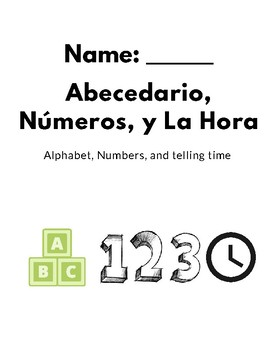 Letters, Numbers, and Time in Spanish