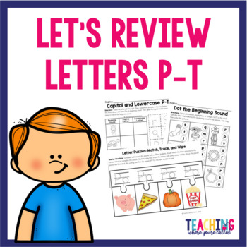 Letters P-T Pack