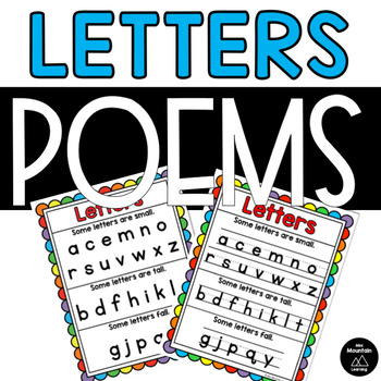 Letters Poem