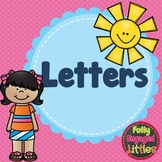 Letters Activities-Worksheets, Short book, Coloring, and I