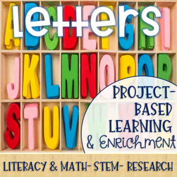 Letters Project-Based Learning & Enrichment for Literacy, Math, STEM & Research
