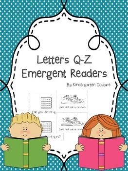 Q-Z Emergent Readers