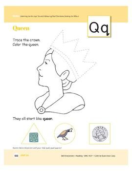 Letters QU