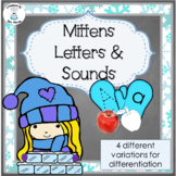 Letter Recognition and Letter Sounds - Mittens