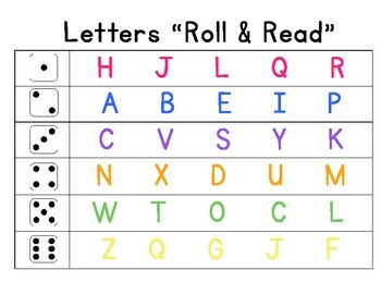 Letters Roll & Read