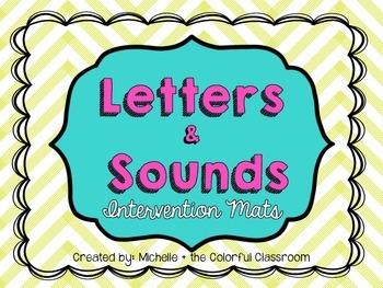 Letters + Sounds {Intervention Mats}