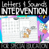 Letters & Sounds Intervention | Tier 3 Intervention for Sp