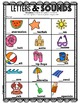 Letters & Sounds Printable Sheets for Kindergarteners! ( B