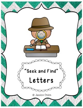 Letters/Sounds Seek and Find