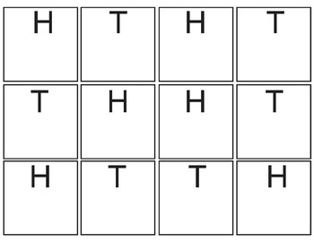Letters Stamp Sheet:  H and T