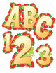 "Letters That Lunch!  Clip Art Alphabet, 300 DPI, PDF/ PNGs, 4"" High, Vector Fun!"