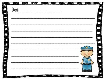 Letters To Community Helpers