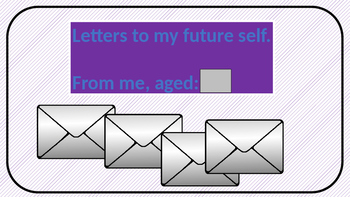 Letters To Me, aged......