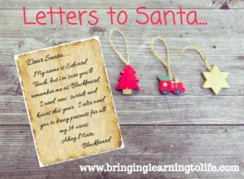 Letters To Santa From a Person in History