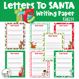 Letters To Santa Templates/Christmas Writing Paper