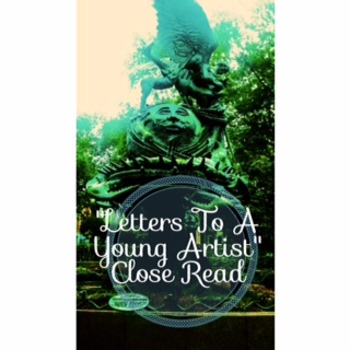 """Code X """"Letters To a Young Artist"""" Close Read Second Read  Unit 3"""