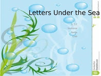 Letters Under the Sea