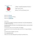 Letters: Visual Discrimination Practice 1