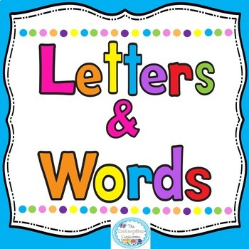 Letters Vs. Words