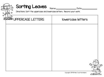 Letters & Words Pocket Chart Sort