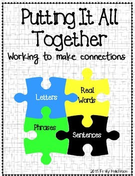 Putting it all together: letters, words, and sentences